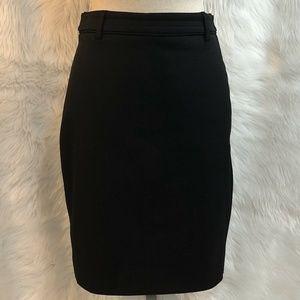 Express Size 2 Skirt Straight Pencil Black